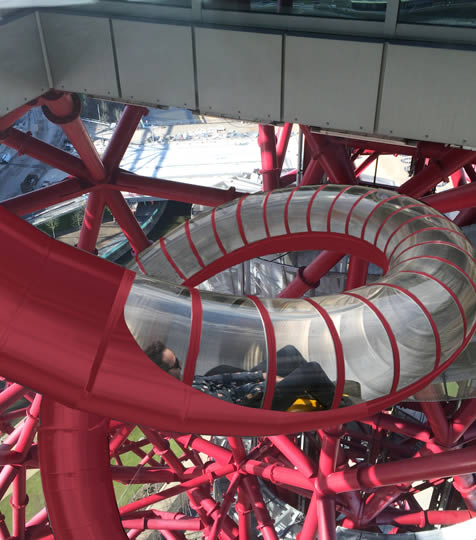ArcelorMittal Orbit slide in Stratford