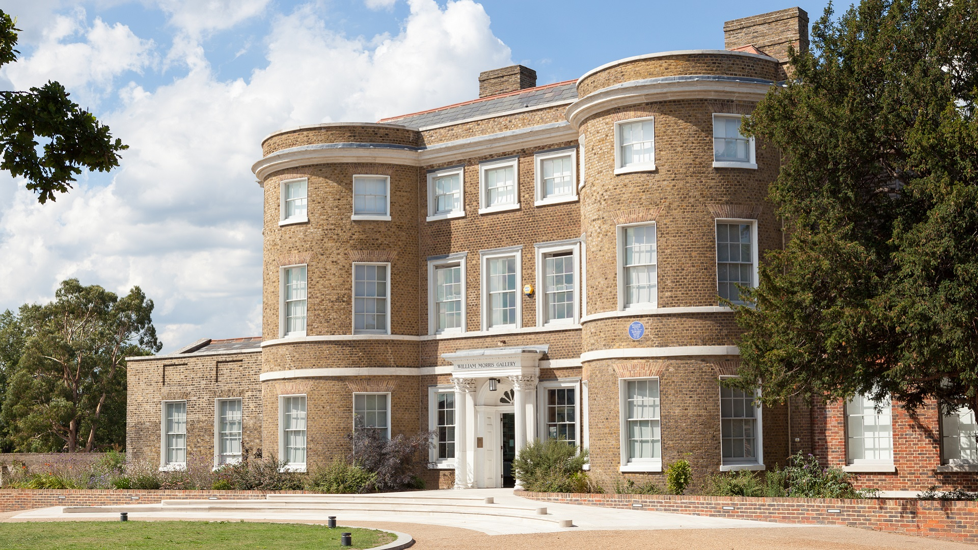 exterior of william morris gallery walthamstow