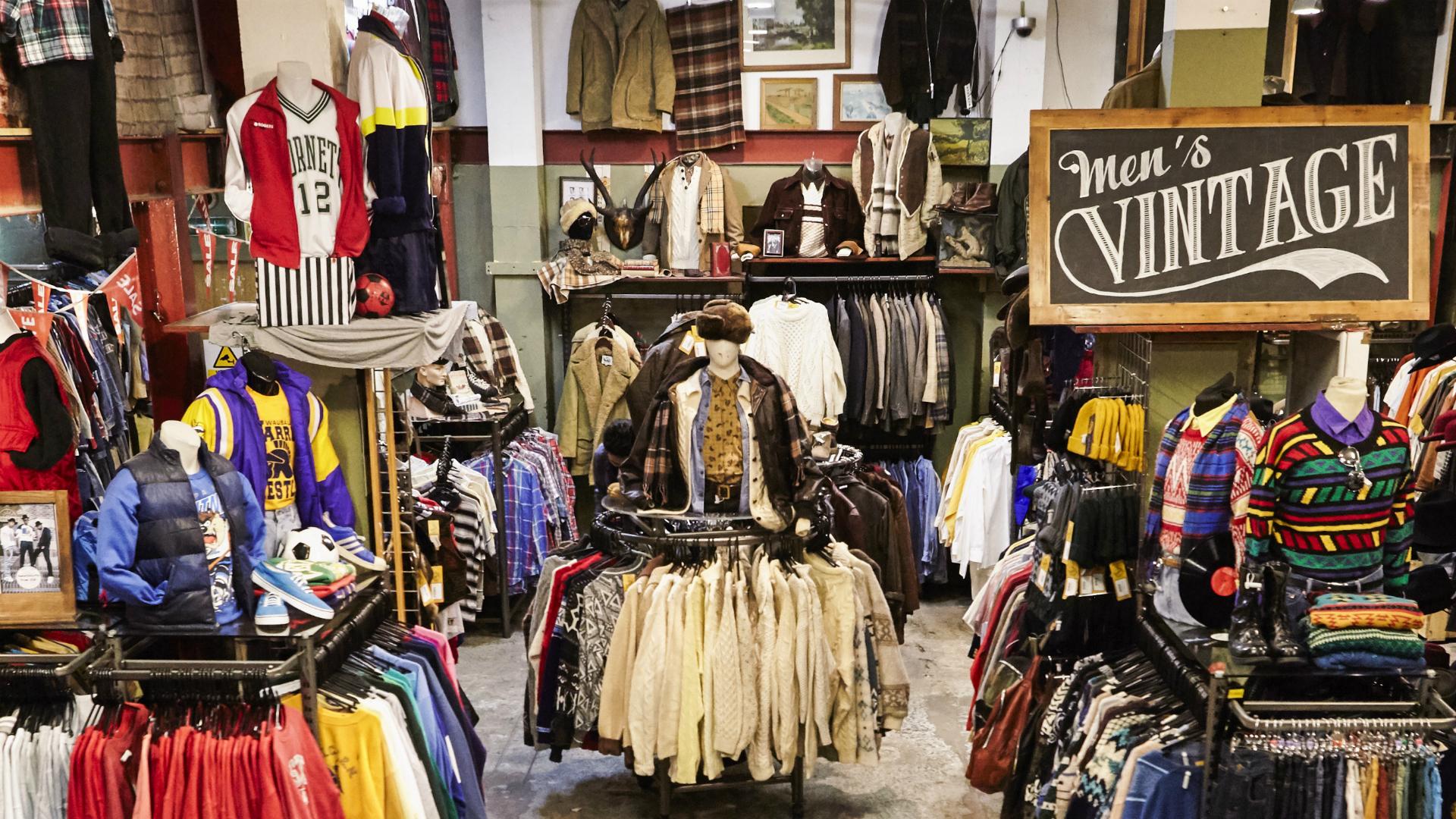 Best vintage fashion shops in London , Antiques, Vintage