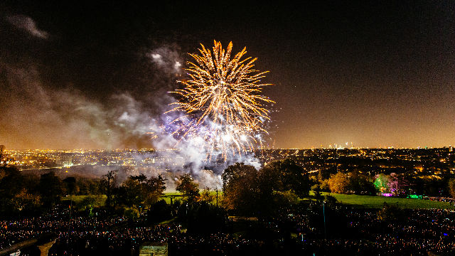 Fireworks Festival at Alexandra Palace