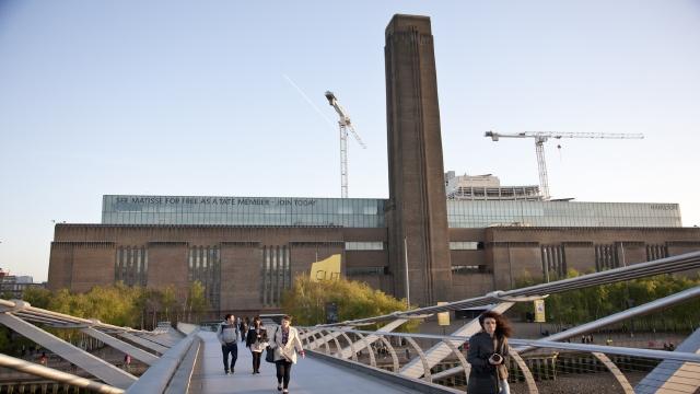 Tate Modern and the Millenium Bridge