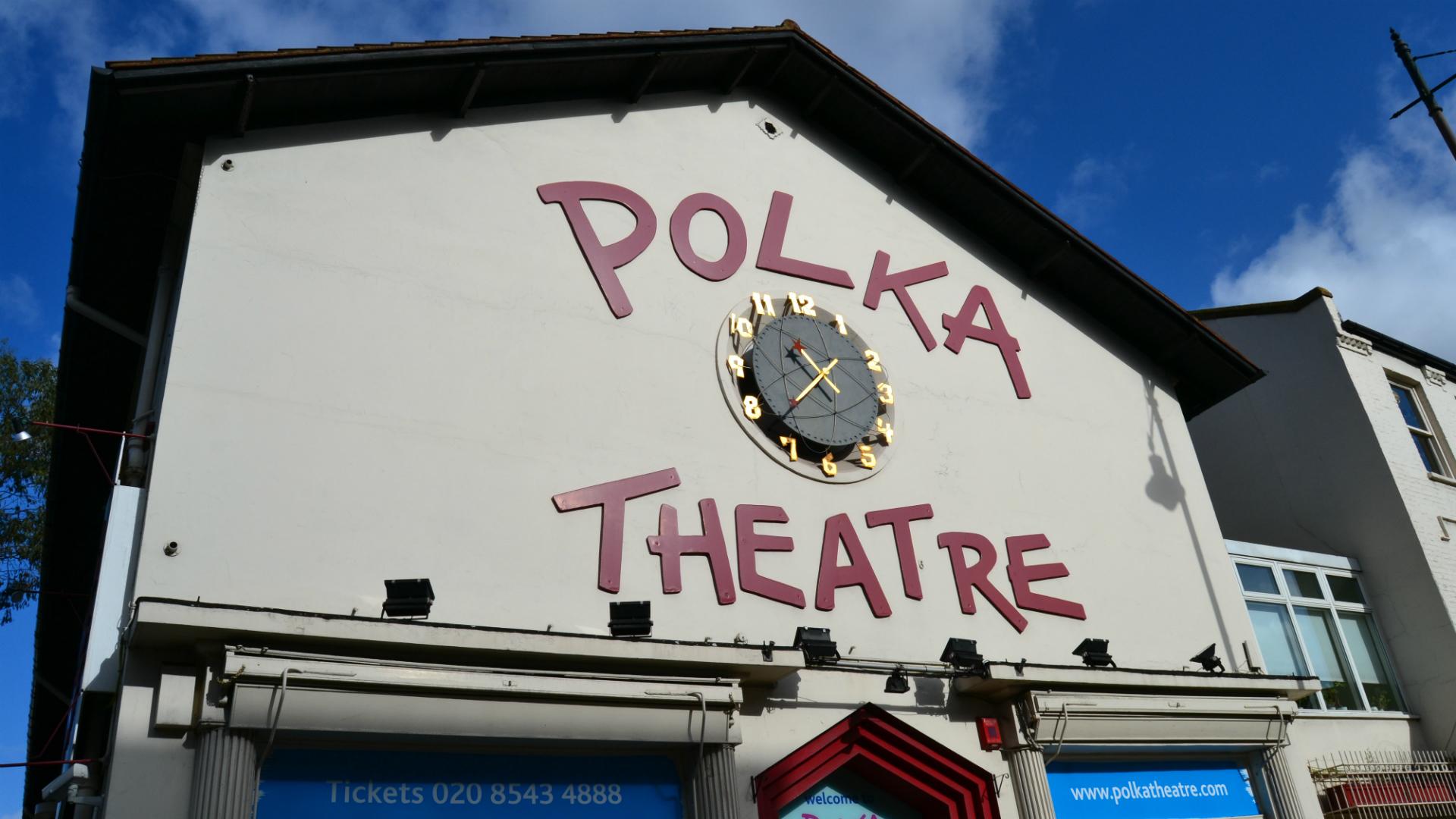 Polka Theatre. Image courtesy of Polka Theatre.