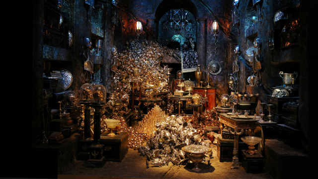 Gringotts Bank at Harry Potter Studio Tour. Image courtesy of Fever PR.