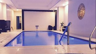 A relaxing pool area at The Montcalm Spa