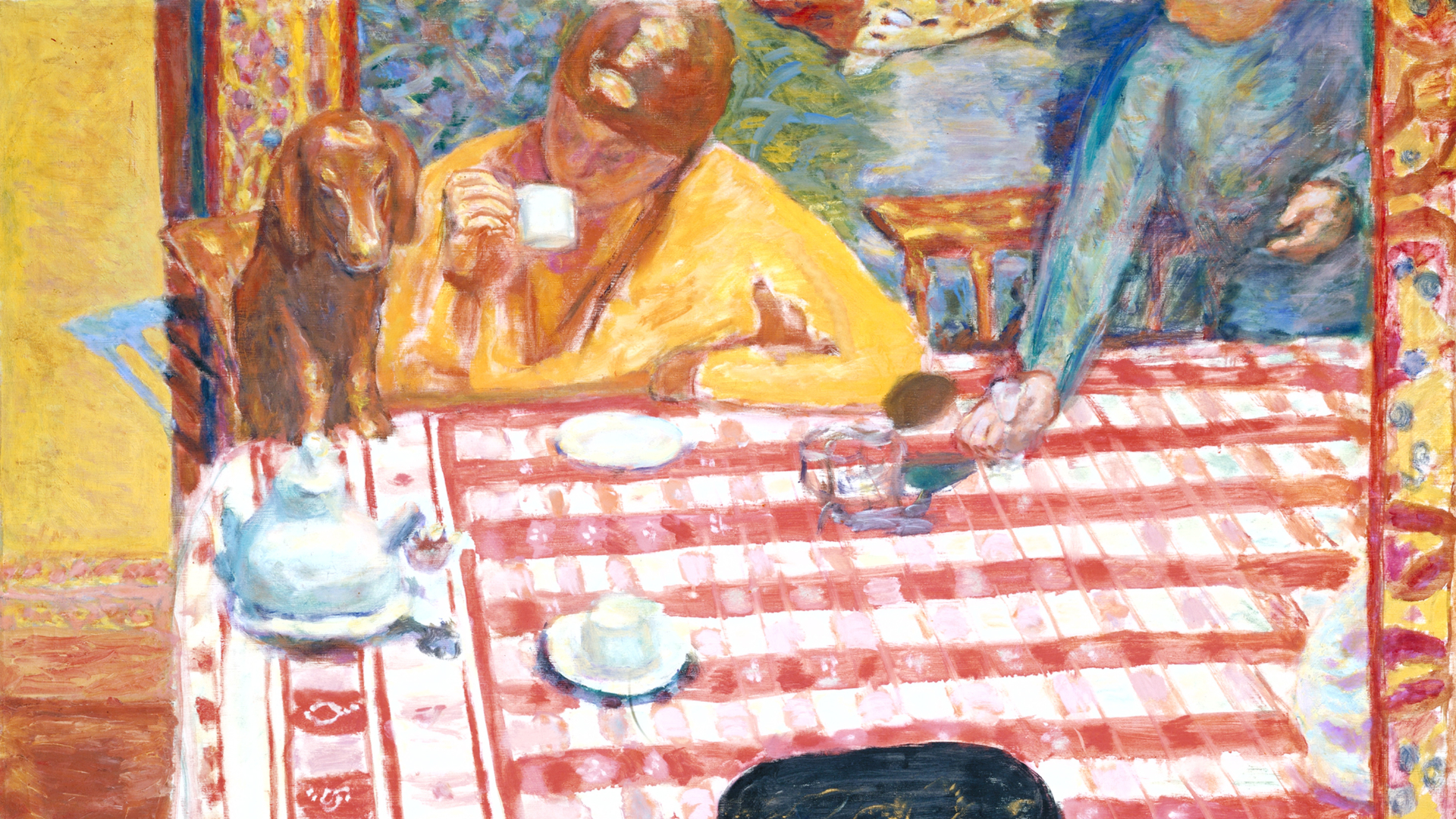 Coffee by Bonnard as part of the Pierre Bonnard exhibition at Tate Modern