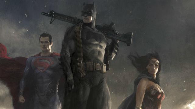 Superman, Batman, Wonder Woman