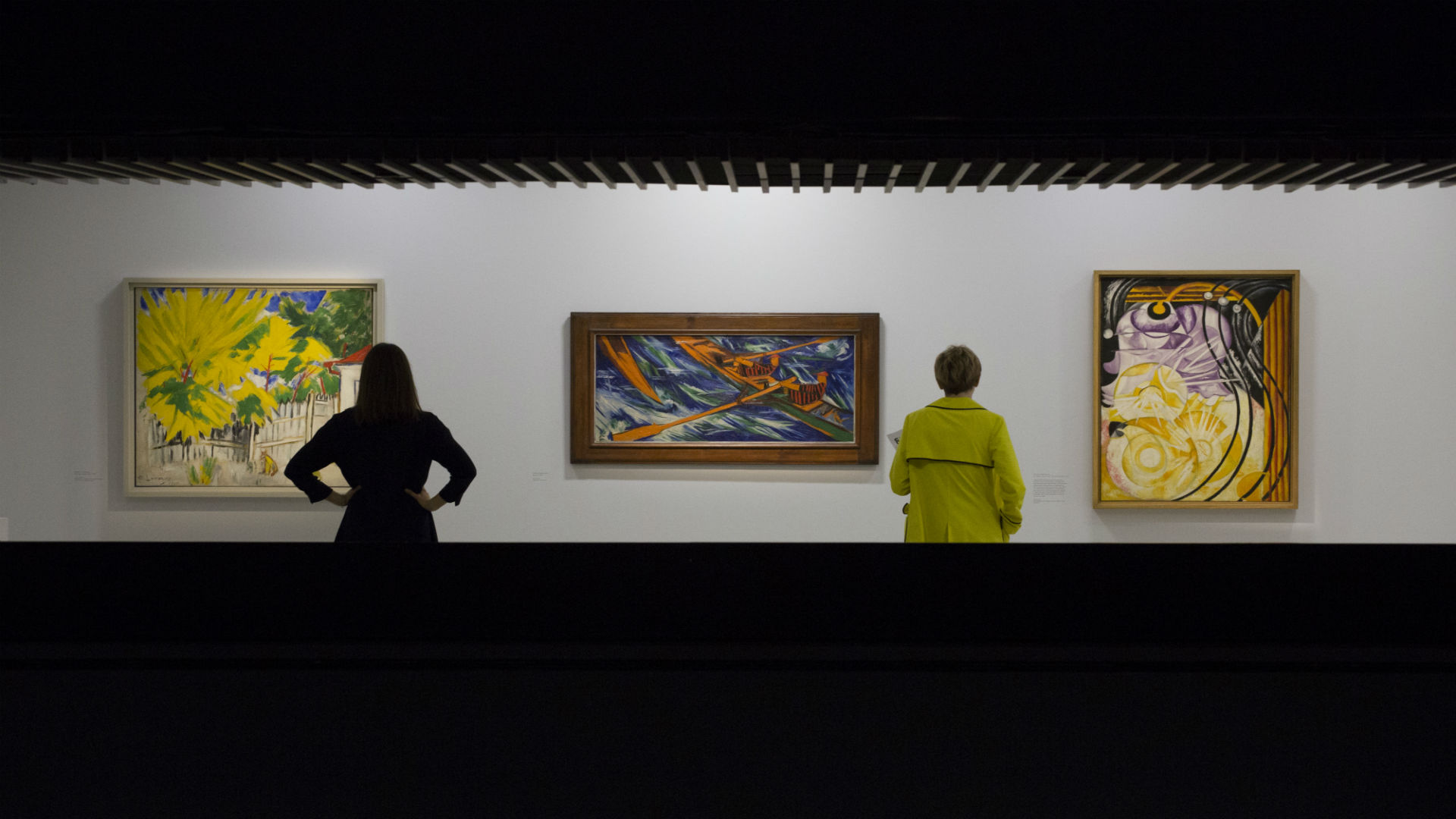 Art on display at Modern Couples exhibition at the Barbican Art Gallery