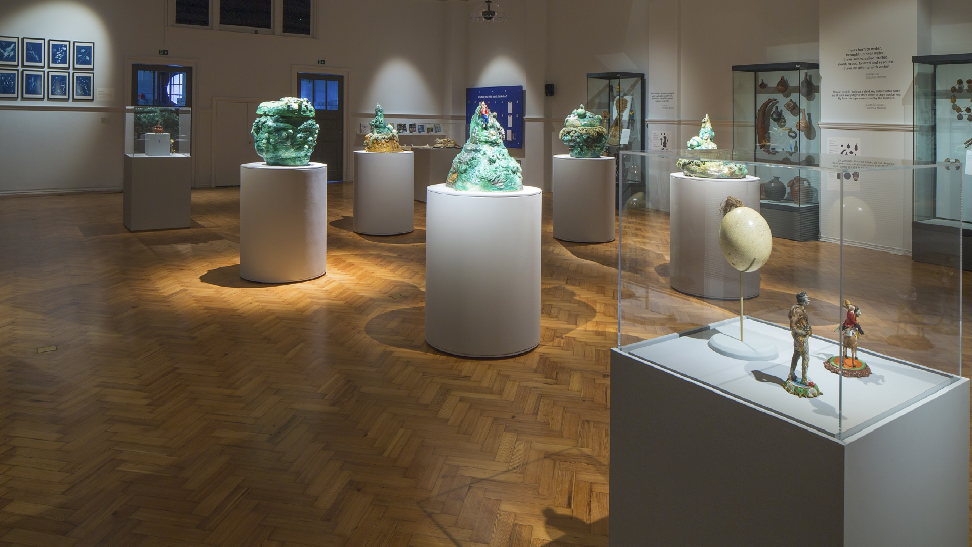 Exhibits at the Horniman Museum as part of the Lore of the Land exhibition