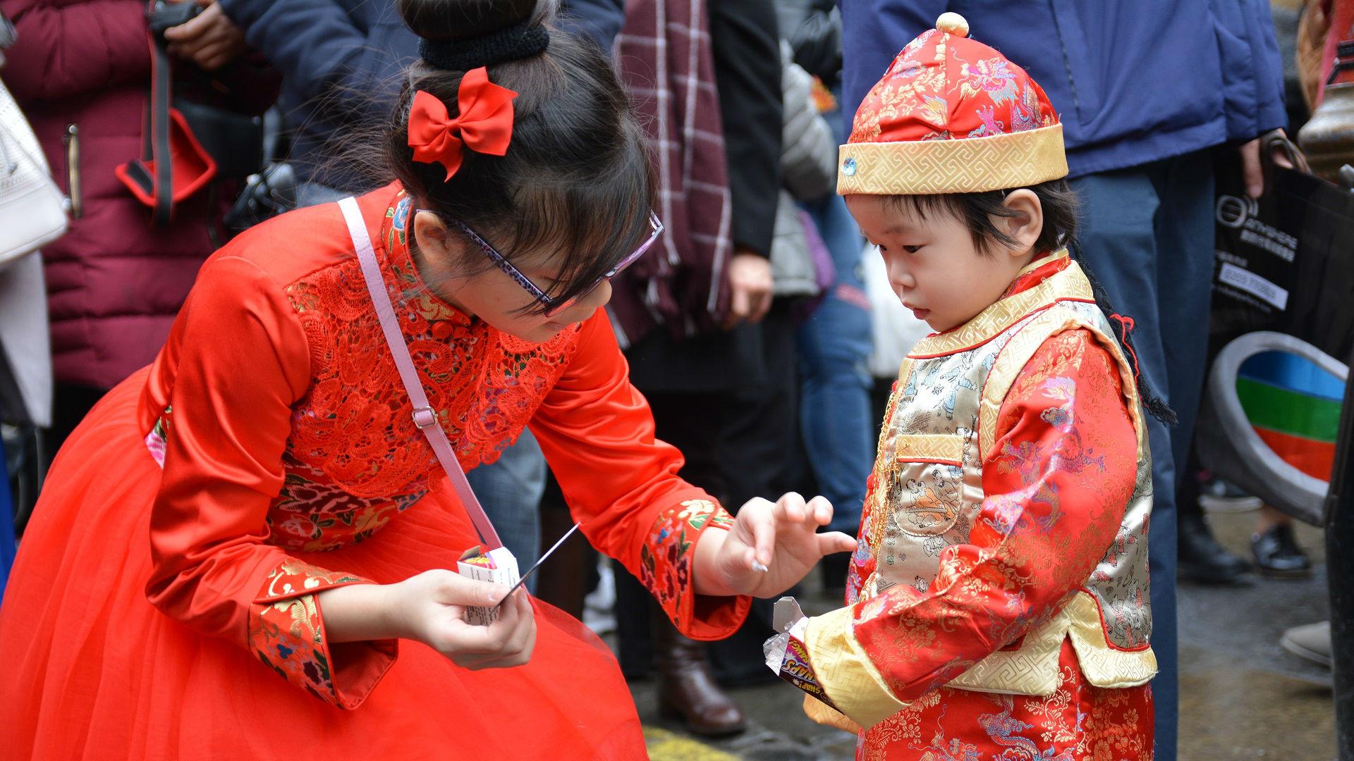 Chinatown during Chinese New Year. Photo: On Yee