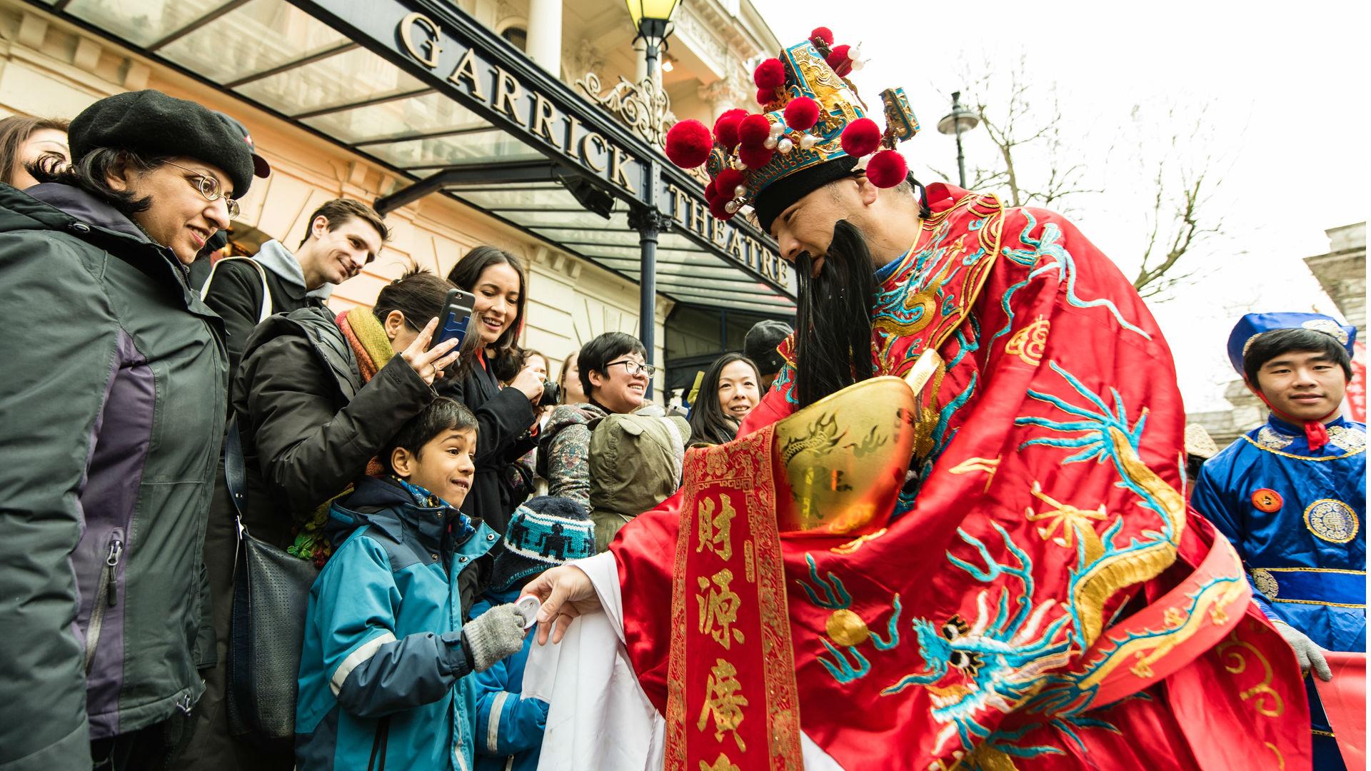Chinese New Year 2017 parade. Photo by: Jon Mo