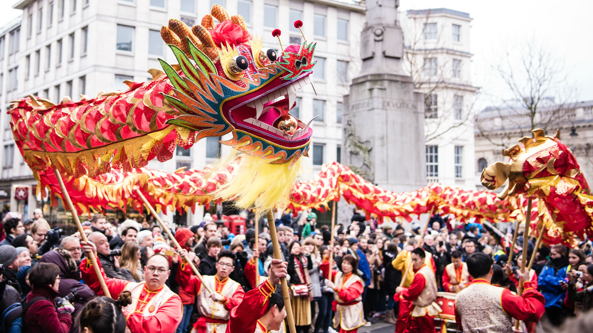 Chinese new year 2018 in london special event for Chinese new years parade