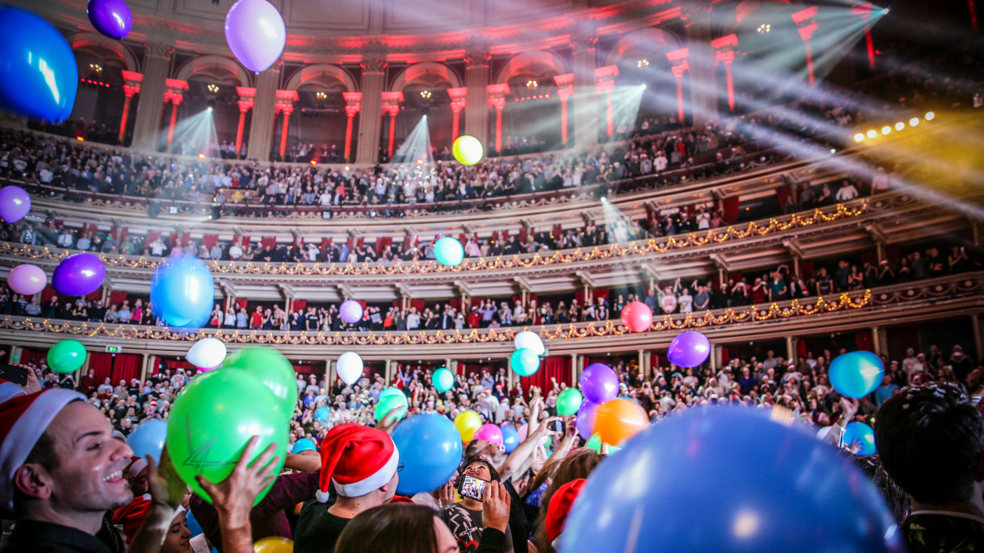 Christmas Festival at Royal Albert Hall. Image courtesy of Royal Albert Hall