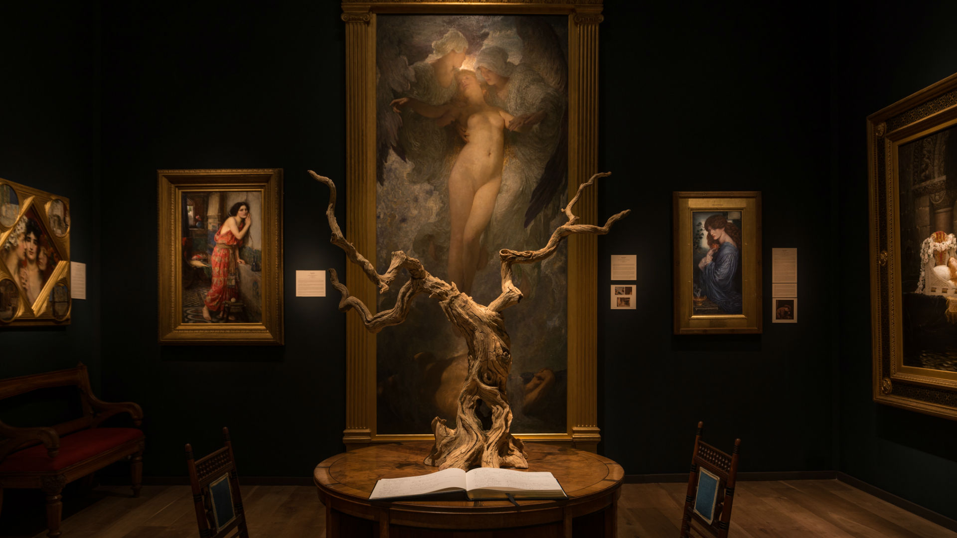 Sculptures, and art on show during Masterpiece 2018 at Royal Hospital Chelsea. Image courtesy of Masterpiece