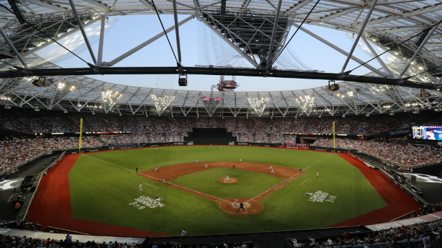 Major League Baseball London Series 20 At The London Stadium