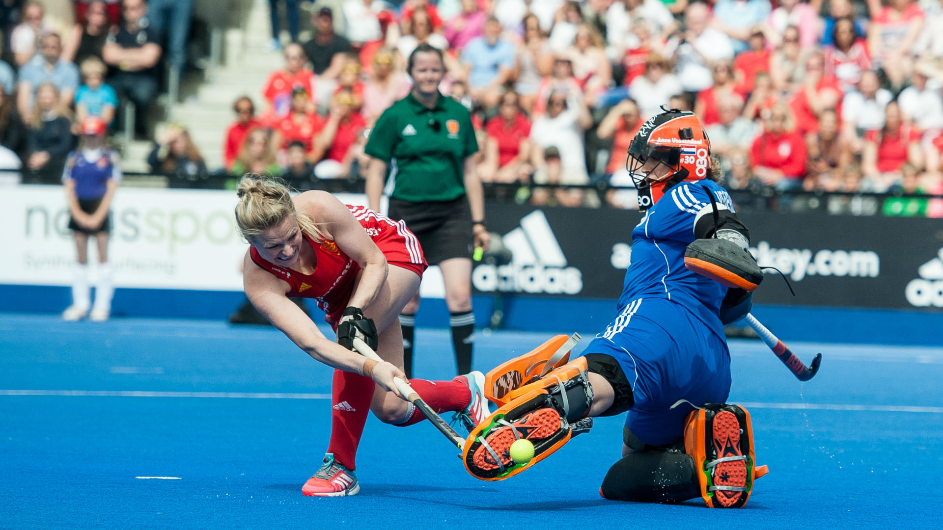England and the Nethelrands will both be at the Vitality Women's Hockey World Cup 2018. Image courtesy of FIH