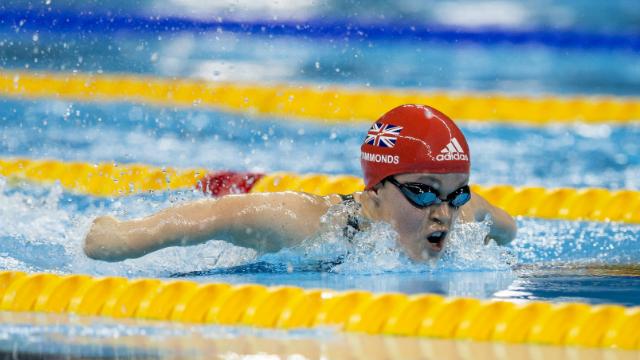 World Para Swimming Allianz Championships at the London Aquatics Centre