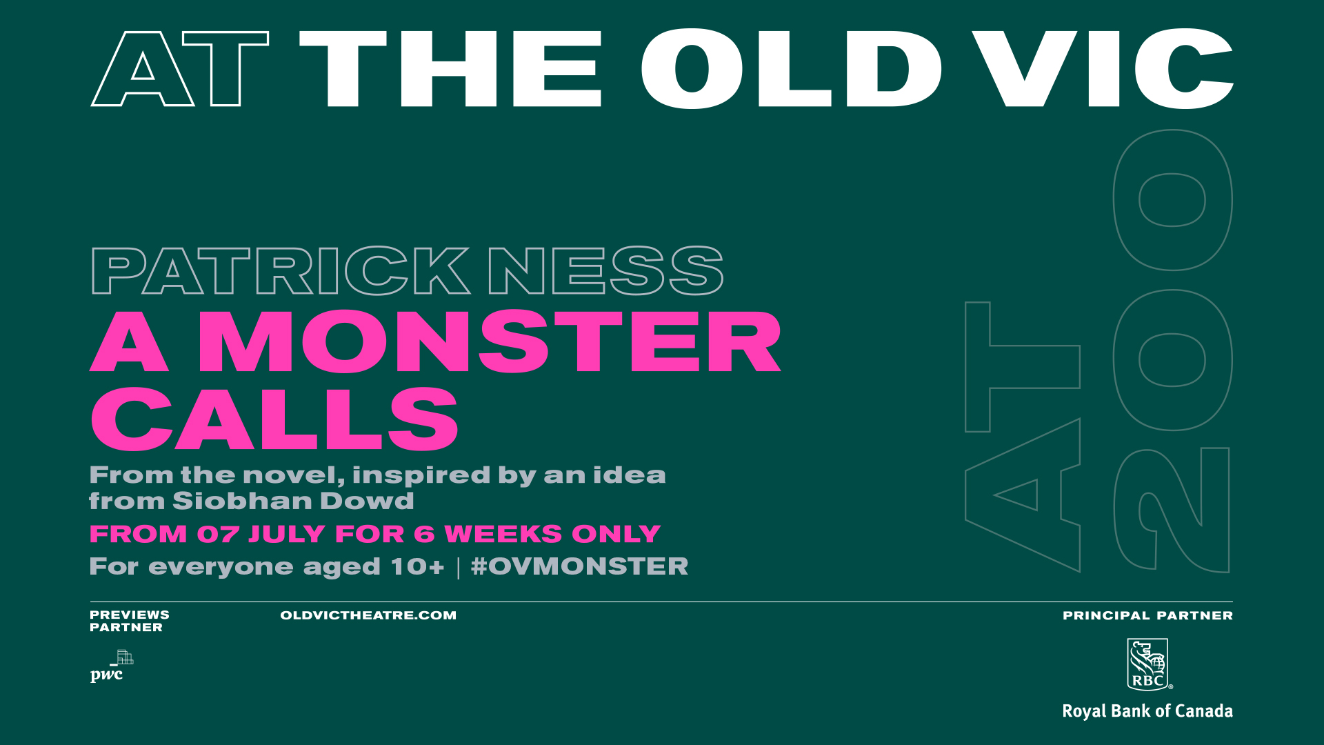 A Monster Calls at The Old Vic. Image courtesy of The Old Vic.