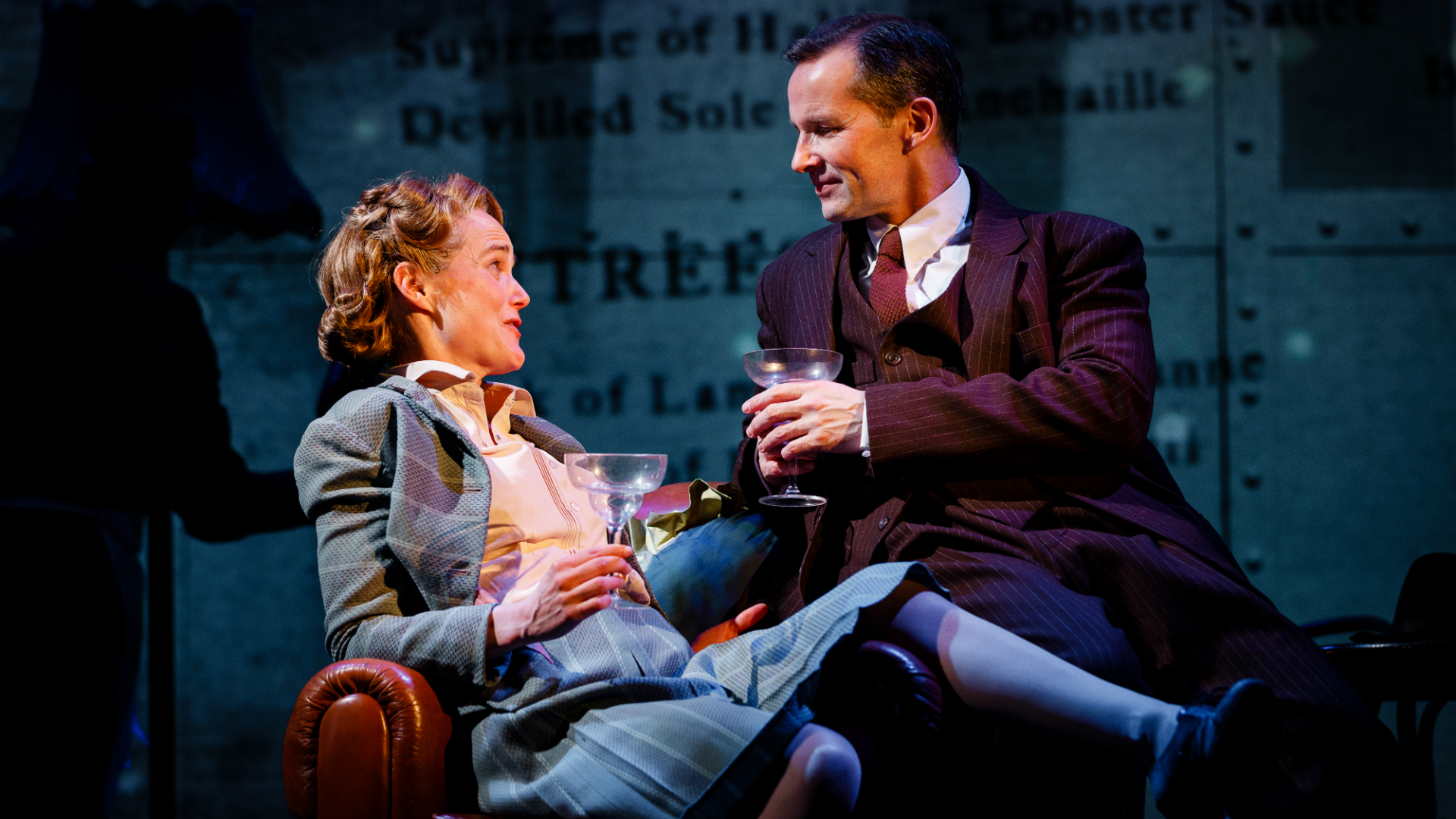 Isabel Pollen and Jim Sturgeon star in Brief Encounter