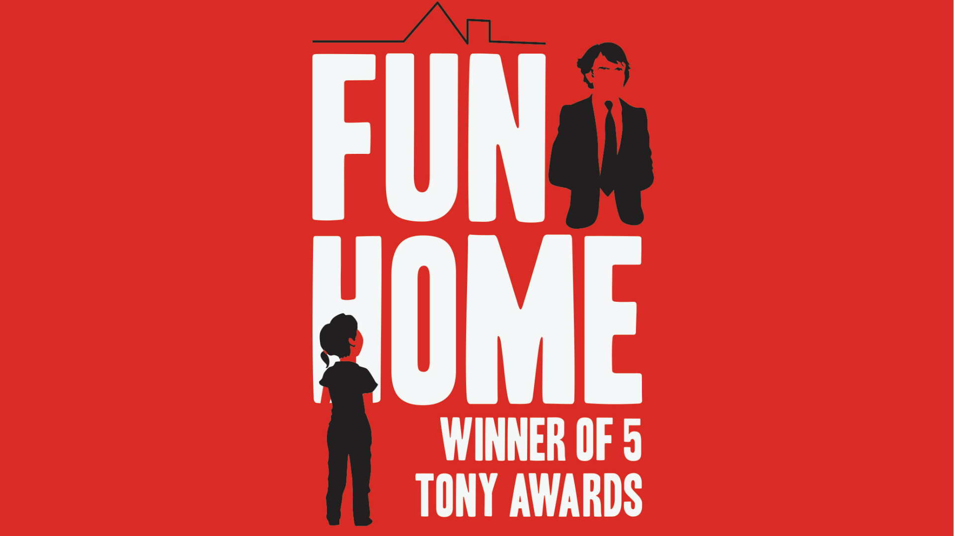 Fun Home at the Young Vic. Image courtesy of the Young Vic.