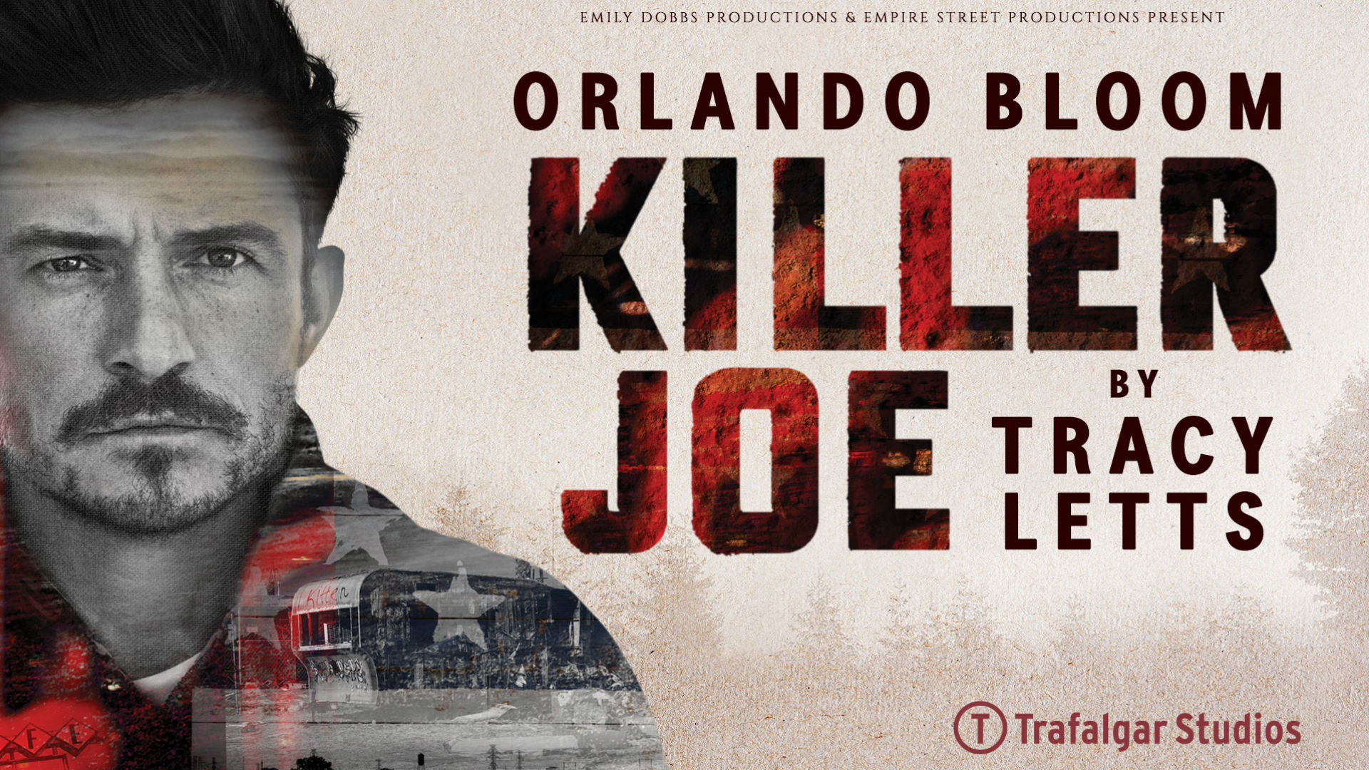Orlando Bloom stars in Killer Joe. Image courtesy of Premier PR.