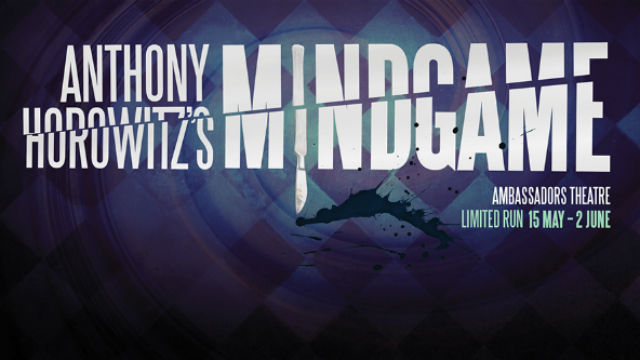 Poster for Mindgame at the Ambassadors Theatre