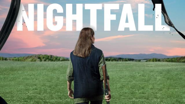 Nightfall at The Bridge Theatre poster image. Image courtesy of The Bridge Theatre.