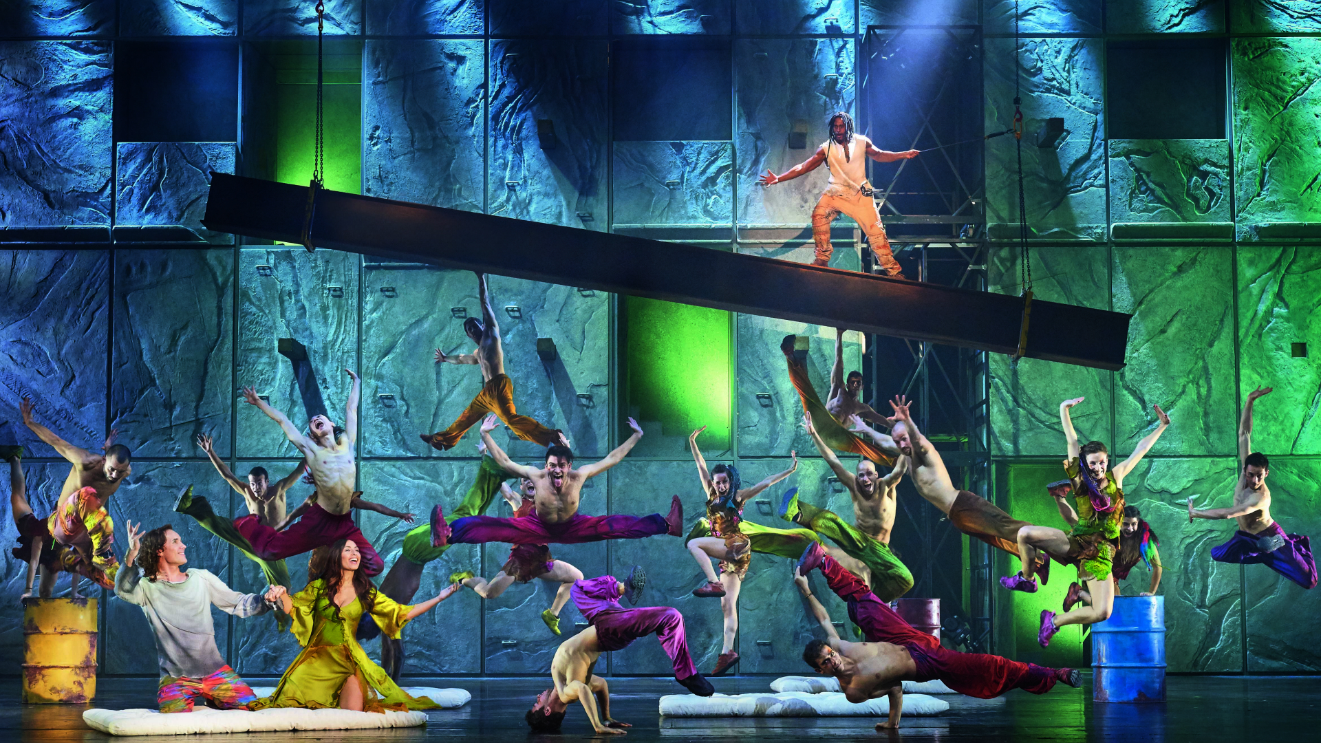 Notre Dame De Paris at London Coliseum. Photo credit: Alessandro Dobici. Image courtesy of Target Live.