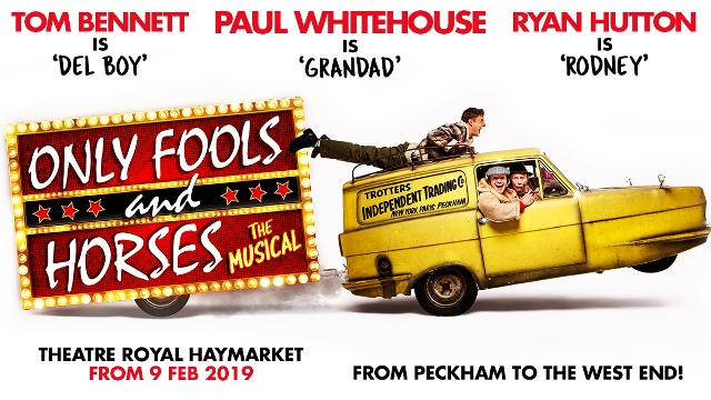 Only Fools and Horses the Musical. Image courtesy of Maidwell Marketing.