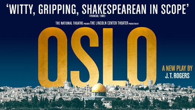 Oslo at the Harold Pinter Theatre