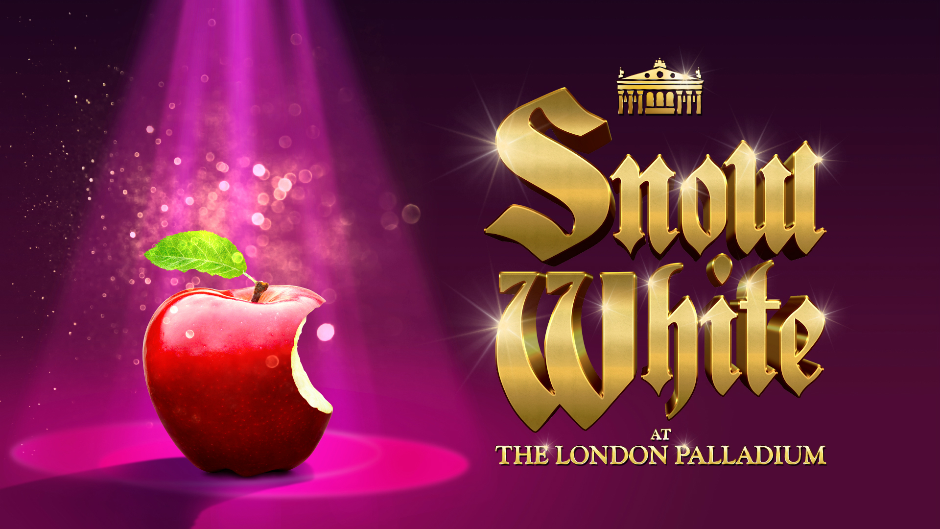 Snow White at the London Palladium. Image courtesy of Premier PR
