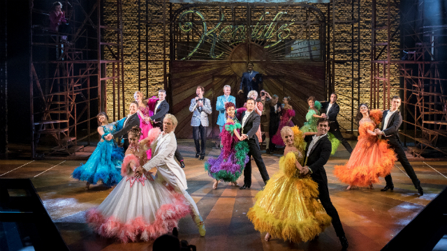 Strictly Ballroom The Musical at the Piccadilly Theatre. Image courtesy of Target Live.