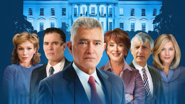 The Best Man at the Playhouse Theatre promotional poster. Image courtesy of the Playhouse Theatre.