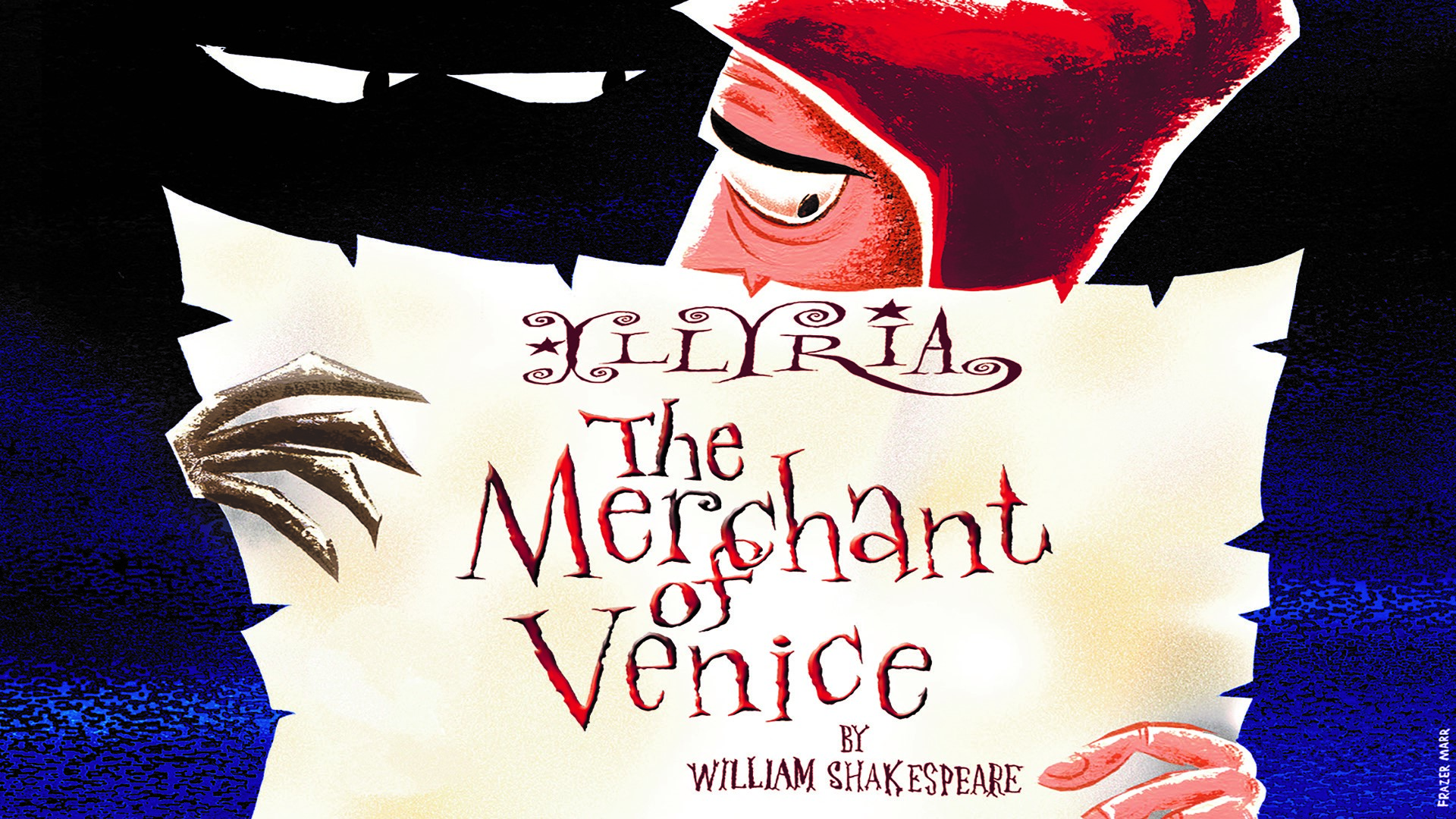 The Merchant Of Venice at Westminster Abbey. Image courtesy of Illyria.