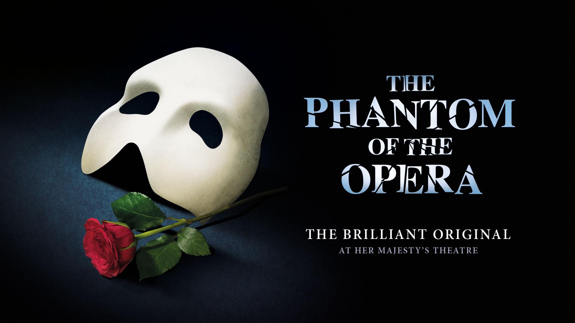 The Phantom of the Opera at Her Majesty's Theatre. Image courtesy of Cameron Mackintosh Ltd.