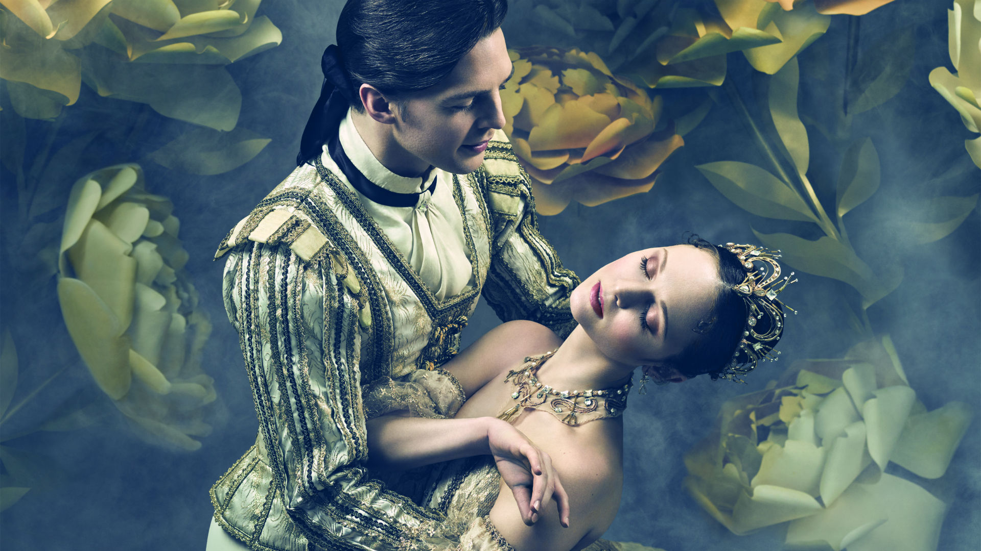 Joseph Caley and Jurgita Dronina in the English National Ballet's The Sleeping Beauty