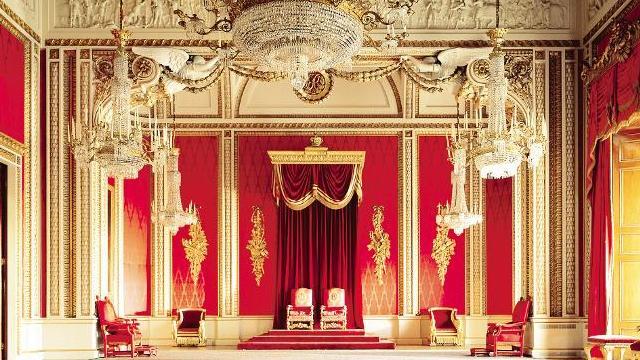 Buckingham palace sites touristiques for Interieur windsor