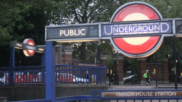 Manor House Underground Station Tube Station