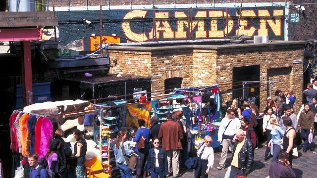 Camden market shopping - Boutique vintage londres ...