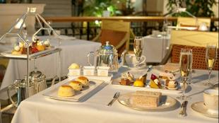 afternoon tea at the landmark hotel