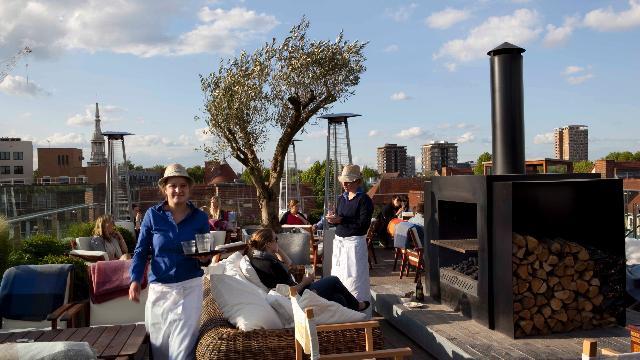 Boundary Rooftop Mediterranean Restaurant Visitlondon Com