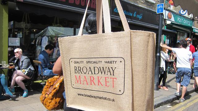 Broadway Food Market Hackney