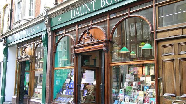 Daunt Books Marylebone Books Visitlondon Com
