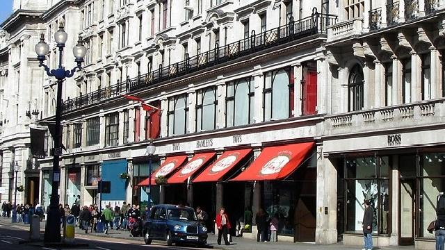 Hamleys Toy Shop on Regent Street