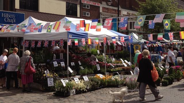 romford market - street market