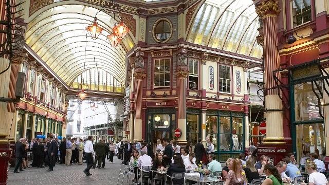 Image result for leadenhall market london