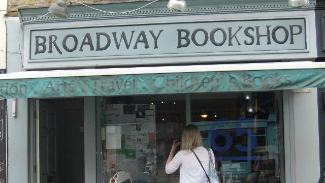 broadway bookshop - books