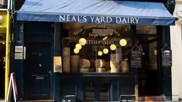 neals yard dairy guide to borough market