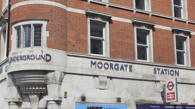 Moorgate Underground Station Tube Station Visitlondon Com