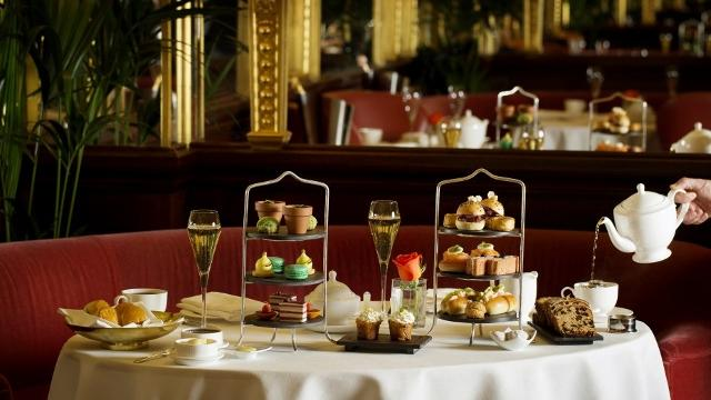 Hotel Cafe Royal London Afternoon Tea