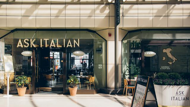 Ask Italian Gloucester Arcade Italian Restaurant